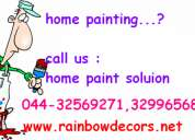 Colour wash  in chennai + white wash paints chennai+ colour paints + paints service chenna