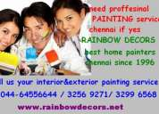 Painting estimate in chennai / asian paints chennai  decors and paints