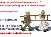 Painting service in chennai + asian paints + berger paint + home service