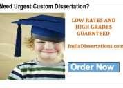 Uk dissertation help in india
