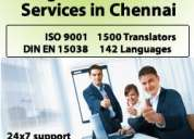 Legal translation services in chennai?