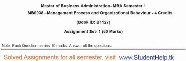 BBA MBA Solved Assignments Available.