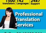 Translation agency with more than 1500 translators