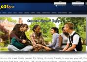 Social community website for sale with domain and vps
