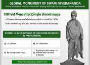Global monument of swami vivekananda