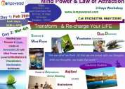 Iempowered mind power & law of attraction 2 days workshop