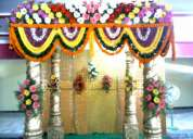 Siddipet marriage & reception stage decoration works