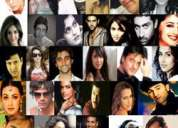 Bollywood artists, t.v artists, singers and models co-ordinators