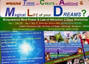 Iempowered mind power & law of attraction mastery 2 days workshop