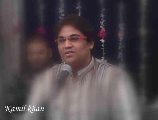 sufi singer mr. kamil khan for qawwali geet and ghazal