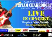 Pritam - live in concert @ princess academy, palace ground (650x2=rs 1300 for rs 1000)
