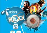 Uninor rock the stage