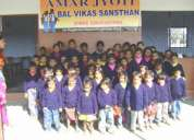 Volunteers in amar jyoti school