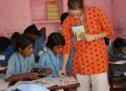 Volunteer india teach english