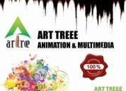 Best animation & multimedia training institutes--art treee