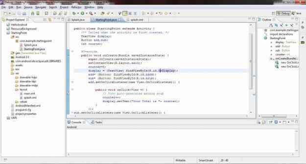 Learn Android development along with the project development, Reasonable Price