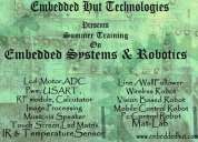 Summer training on embedded system and robotics