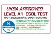 Ukba approved level a1 test esol course for marriage visa uk
