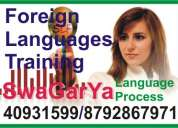Portuguese language  classes in bangalore