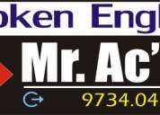 Spoken english - mr. ac'en
