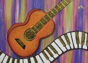 Guitar & keyboard classes in navi mumbai (kingdom music)