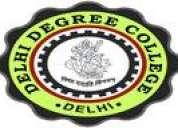 Delhi degree college. ( a unit of msvf ngo-regn. no-s/64481)