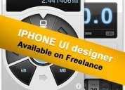 Freelance iphone ui designer