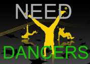 Need dancers for corporates , guest , tv shows.