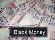 Clean out black money known as anti-breeze (stained money)