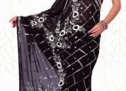 Maker and embroidery designers for fancy sarees and saree lace in surat-india
