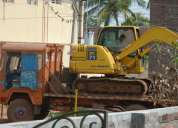L&t komatsu pc71 for sale, at ongole