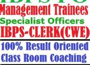 Best and cheap coaching of ibps (institute of banking personnel selection) for bank po & bank cl