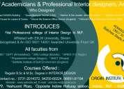 Origin institute of design-first professional college of interior design in mp