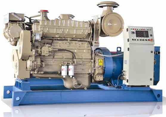 Used marine diesel generator sale 10kva to 500kva in Hyderabad-india by sai Engineering