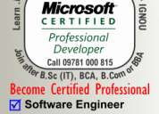 Join software engineering along with mca-ignou contact 9878100815