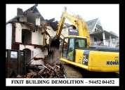 Fixit building demolition contractors