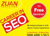 Free seminar on digital marketing &seo by zuan education