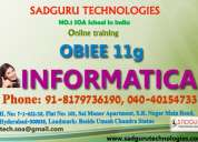 Best obiee online training institute