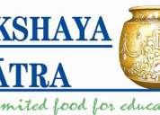 The akshayapatra foundation in gandhinagar