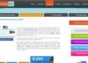 Bus booking script, redbus clone script, ready-made bus booking script
