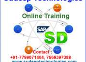 Sap sd online training from india