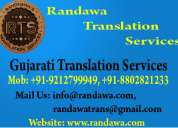 09212799949 gujarati translation service in cannught palace