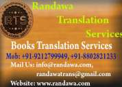 01204566983 best book translation service in delhi ludhiana