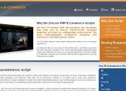 php ecommerce script, ready made php ecommerce script, ecommerce script