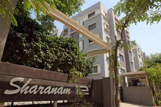3 BHK Semi Furnished Flat available on rent in Sharnam 12 at Prahladnagar