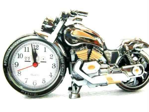 Royal Bike Table Alarm Clock For Sale