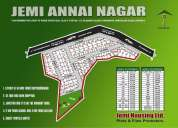 Dtcp approved plot sale in annai nagar at mappedu