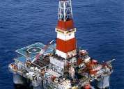 International oil rig job