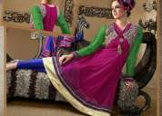 New launched anarkali suits on wholesale... chennai express 10 pcs