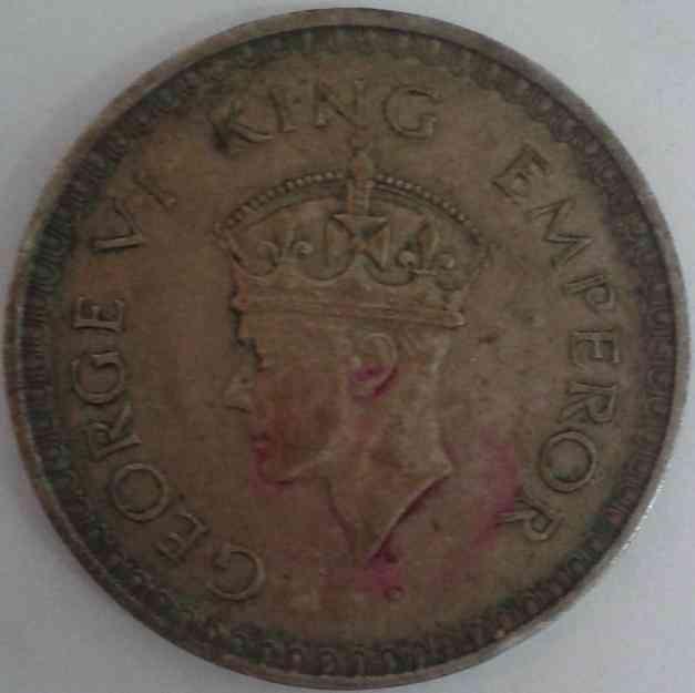 George VI King Emperor Silver Coin